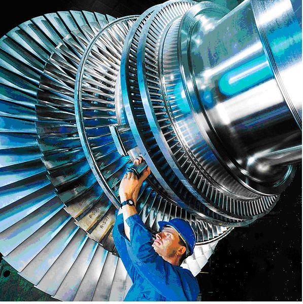Reactionary Turbine Setup