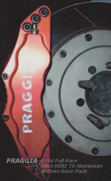 Praggia Calipers Full Race