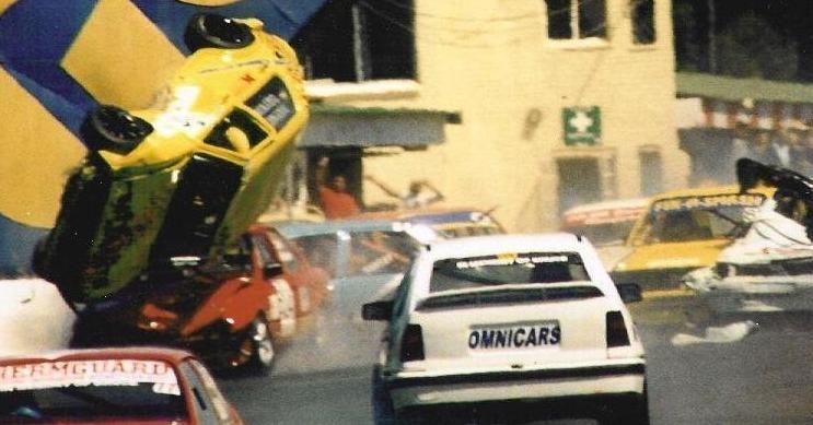 Race Scene Accident